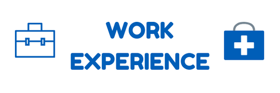 Work Experience. Clickable link.